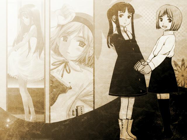 ガンスリのフルカラーエロ画像!トリエラとヘンリエッタがおきにwwwwwwwwwwwwwwwwwww 16