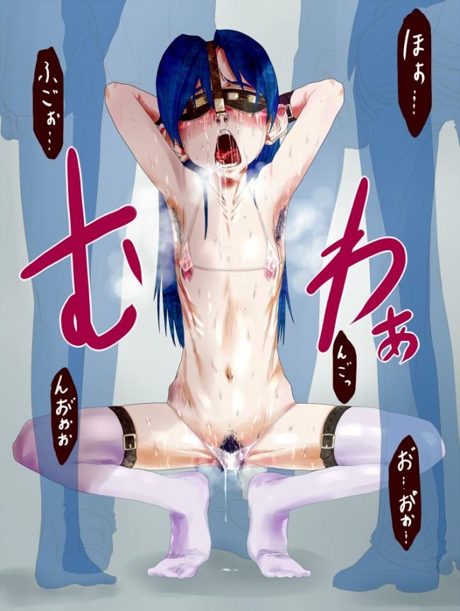 アイマスのフルカラーエロ画像キター!秋月律子、如月千早、天海春香の3人ですwwwwwwwwwwwwwwwww 46