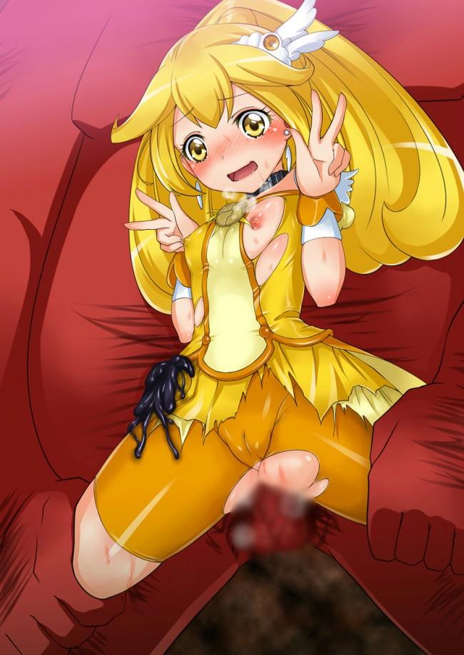 【エロ同人誌】プリキュアのフルカラーエロ画像キター!黄瀬やよいちゃんメインですよwwwwwwwwwwwwwwwwwwww (35)