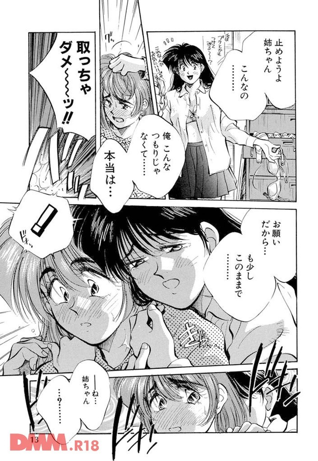 【エロ同人・エロ漫画】ナルシストをこじらせた姉を好きなシスコンの弟が、姉の口紅をぬりぬりしてたら姉に見られて女装させられ(以下省略-0014